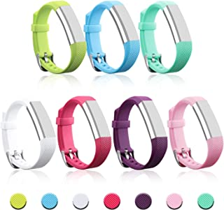 mtsugar Colorful Newest Fitbit Alta/Fitbit Alta HR Replacement Wristband with Secure Clasps(No Tracker, Replacement Bands Only)