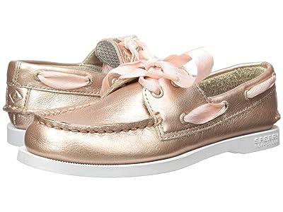 Sperry Kids Authentic Original (Little Kid/Big Kid) (Rose Gold) Girls Shoes