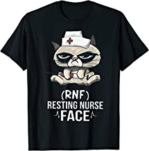 RNF Resting Nurse Face T-shirt