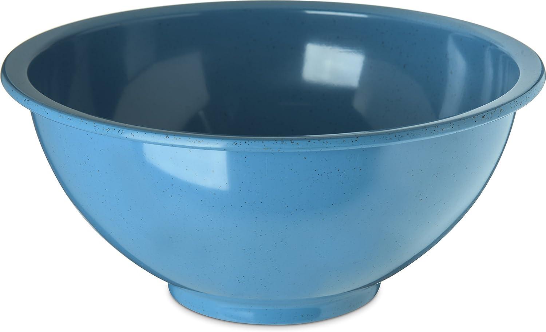 Carlisle 4374392 Commercial Garbage Bowl, 3 Quart, Sandshade (Pack of 12)