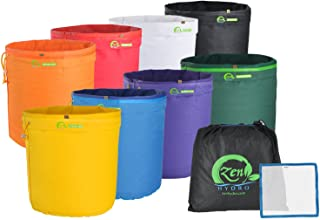 iPower GLBBAG5X8 5 Gallon 8 Set Herbal Ice Essence Extraction Bubble Hash Kit with(25..