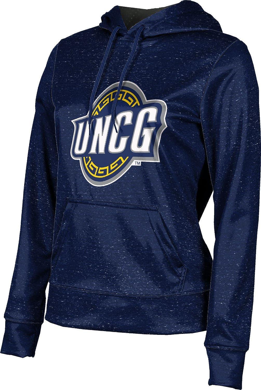 University of North Carolina at Greensboro Girls' Pullover Hoodie, School Spirit Sweatshirt (Heather)