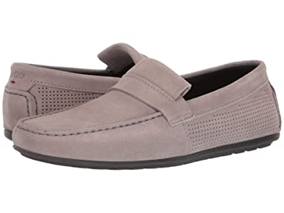 BOSS Hugo Boss Dandy Moccasin By Hugo (Light Grey) Men