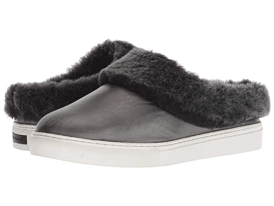 Trask Lisa (Pewter Brush-Off Italian Sheepskin/Shearling) Women