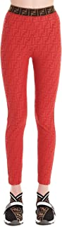 FENDI Luxury Fashion Womens FAB174AB4CF1AG2 Red Leggings |