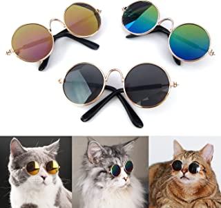 Alfie Pet - Aza 3-Piece Set Sun Glasses for Dogs and Cats