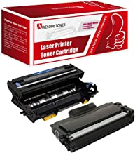 Brother DR-400 TN-460 (DR400 TN460) Compatible Toner & Drum Cartridge - Toner 6,000 Drum 20,000 Page Yield At 5% Page Coverage - For Use With Brother DCP-1200, 1400-2Pack