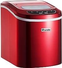 TecTake Machine à glaçons Appareil de préparation de Glace - diverses Couleurs au Choix - (Rouge | no. 400475)