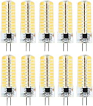 Led Bulbs, YWXLIGHT, LED Bulb G4 Silicone Corn Bulb 5730 SMD 80LED Energy Saving Lamp Dimmable 5W (50W Halogen Equivalent)...