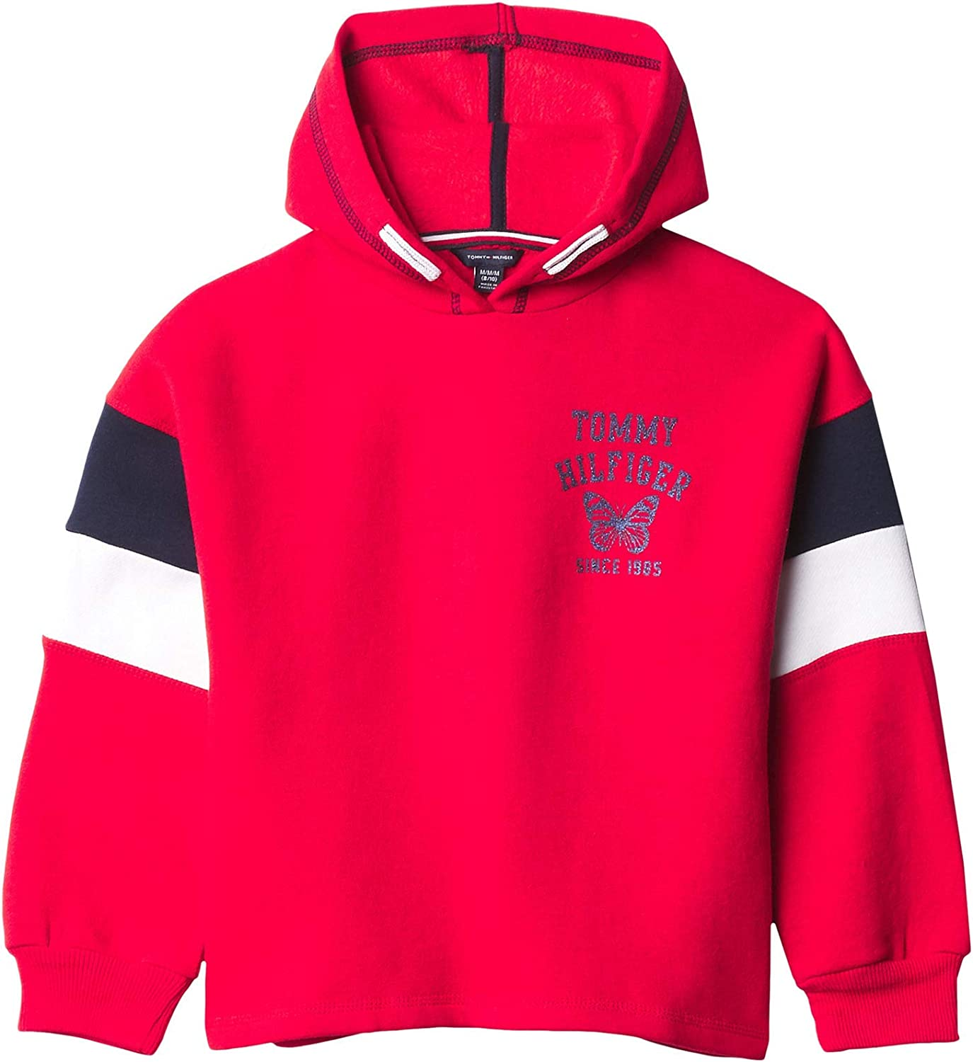 Tommy free Hilfiger Girls' Sale Special Price Full Fashion Hoodie Zip