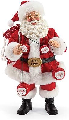 "Department 56 Possible Dreams Santas Sports and Leisure Yo Figurine, 10.5"", Multicolor"