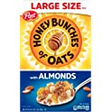 Post Honey Bunches of Oats with Almonds Cereal 18 oz. Box