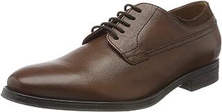 Geox U Rezzonico C, Zapatos de Cordones Derby Hombre