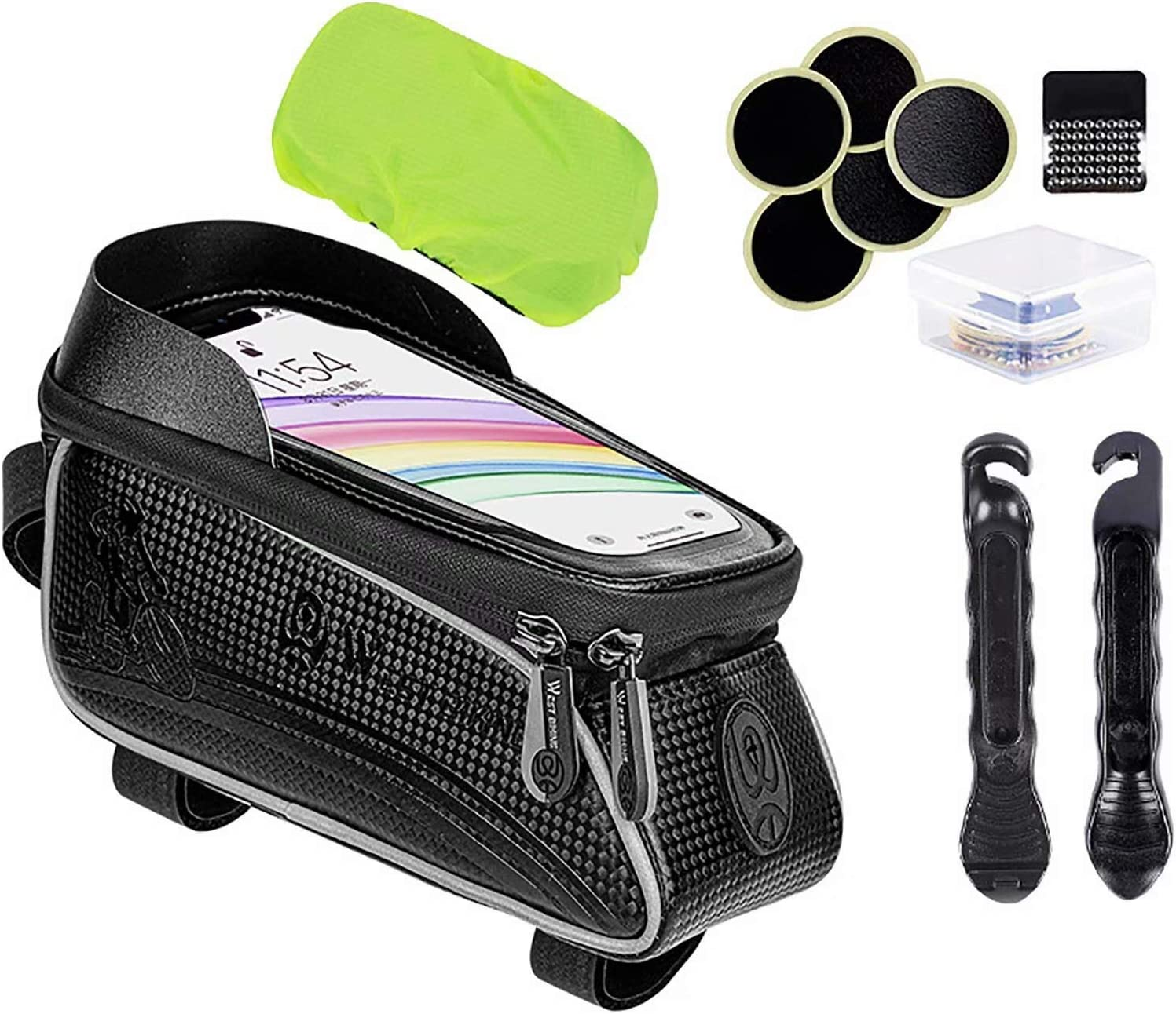 CHENSQ Bicycle Multifunctional Puncture Lowest price challenge Max 68% OFF Mult kit Repair