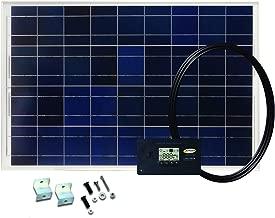 Go Power! GP-RV-80 80-Watt Solar Kit with 30 Amp Digital Regulator
