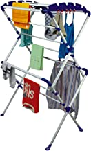 Paffy Sumo Clothes Drying Stand Large (White & Blue)