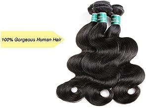 Hair Brazilian Body Wave Hair 3 Bundles 100% Remy Human Hair Full Cuticle Aligned,18 20 22