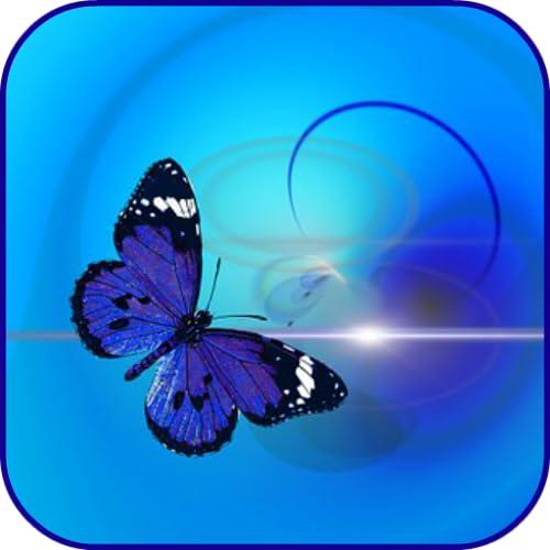 Abstrakte Schmetterlinge Hintergrund
