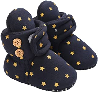 Roaays M Baby Shoes Baby Cotton Bootie Baby Girl Boy Slippers