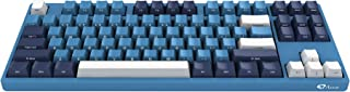 YUNZII AKKO 3087 SP Ocean Star Cherry MX Switch PBT Keycap Full Anti-Ghosting Mechanical Keyboard (Cherry MX Red)