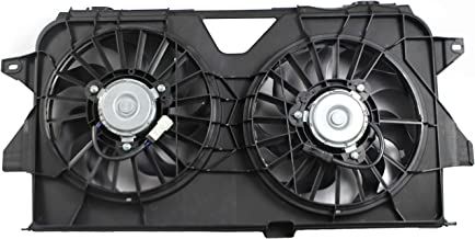 BOXI Dual Radiator and Condenser Fan Assembly For 2005-2007 Chrysler Town & Country/Dodge Caravan/Dodge Grand Caravan / 4677695AA