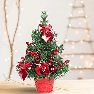 TEBAISE K/ünstliche Tischplatte Mini Christbaumschmuck Festival Miniatur Baum 20cm Weihnachtsbaum Tannenbaum Christbaum Tanne Weihnachtsdeko