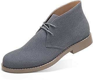 GM GOLAIMAN Men's Chukka Boots Casual Suede Desert Shoes