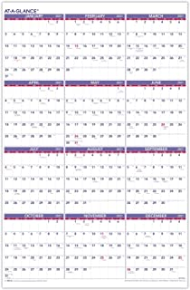 """2021 Wall Calendar by AT-A-GLANCE, 24"""" x 36"""", Yearly, Extra Large (PM122821)"""