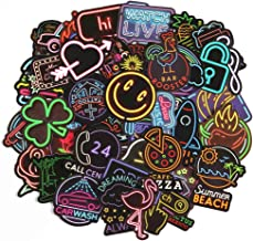 Band Sticker Pack 45pcs Laptop Trendy Stickers for Skateboard Guitar MacBook Computer Luggage Car Bike Bicycle Motorcycle Stickers Door - Waterproof - [No-Duplicate Sticker Pack]