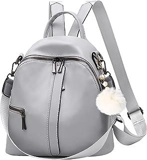 حقيبة ظهر صغيرة للنساء الفتيات حقيبة ظهر عصرية صغيرة من جلد البولي يوريثان حقائب ظهر على الكتف