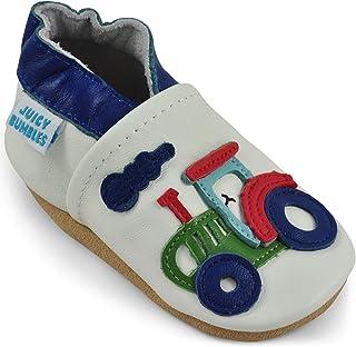 Zapatos de Bebé – Zapatillas de Cuero Niño Niña –