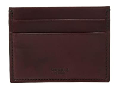 Shinola Detroit Five-Pocket Card Case Harness (Oxblood) Wallet