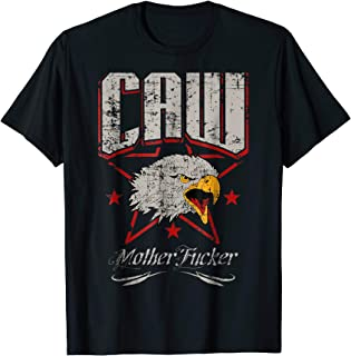 Caw Mother F Patriotic Eagle Long Sleeve For Real Americans