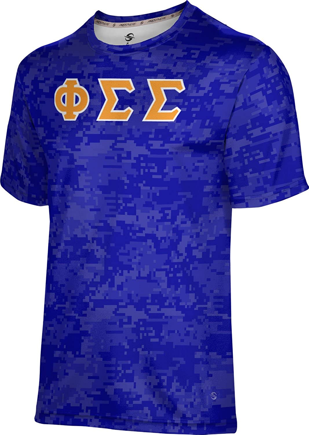 ProSphere Phi Sigma Men's SEAL limited product Digital T-Shirt Performance Max 42% OFF DE
