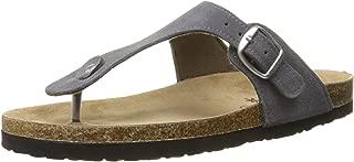 Northside Womens Bindi Leather Thong Cork Sandal