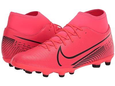 Nike Superfly 7 Club FG/MG (Laser Crimson/Black/Laser Crimson) Cleated Shoes