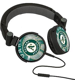 MLB Oakland Athletics Oversized Logo Headphones