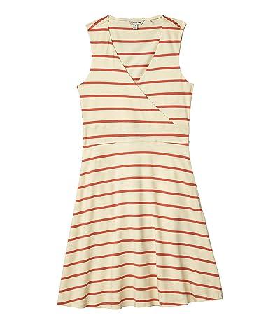 Toad&Co Cue Wrap Sleeveless Dress (Desert Wide Stripe) Women