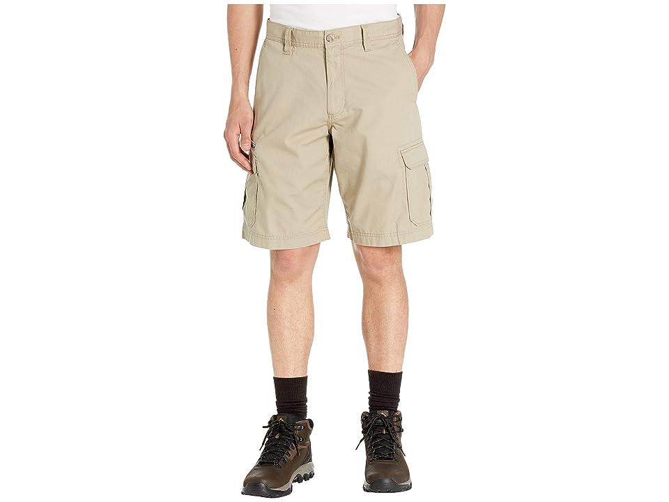 Eddie Bauer Versatrex Cargo Shorts (Light Khaki) Men