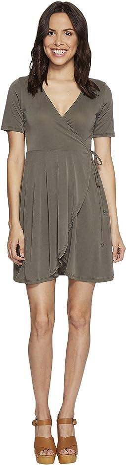 Culture Phit - Aerin Short Sleeve Wrap Dress