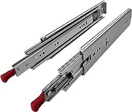 "JUNKER 1 paar volledig uittrekbare ladegeleiders KV1-250-H76-L1422-LC 1422 mm (56"") met lock-in/out-vergrendelfunctie tele..."