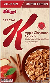 Apple Cinnamon Crunch Clusters and Flakes Breakfast Cereal - 17.7 oz - Kellogg's Special K