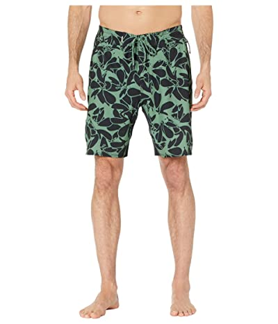 Quiksilver Waterman Paddler Print 19 Boardshorts (Dark Ivy) Men