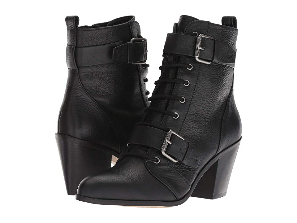 Splendid Carleton (Black Leather) Women