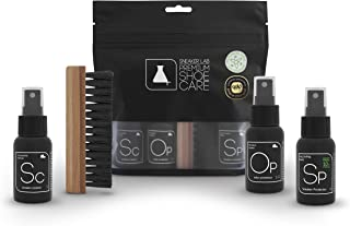 Complete Shoe Cleaning Kit | Safe To Use On Suede, Leather, Nubuck, Canvas, Mesh, Knits & Various Other Materials | Kit Includes Cleaner + Protector + Deodorizer | 1.7 Oz. Bottles
