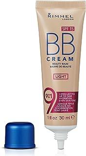 Rimmel London Match Perfection 9-in-1 Super Makeup BB Cream, Light #001, 30 mL