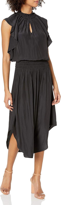Ramy Las Vegas Mall Brook Women's Wren Dress Midi Sleeve Flutter Ranking TOP9