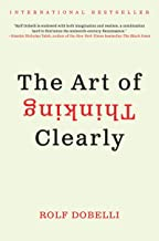 Best the art of thinking clearly kindle Reviews