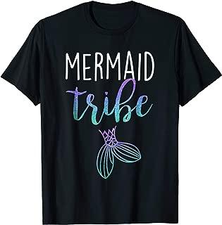 Mermaid Tribe Bachelorette Bridesmaid Bridal Party Shirt