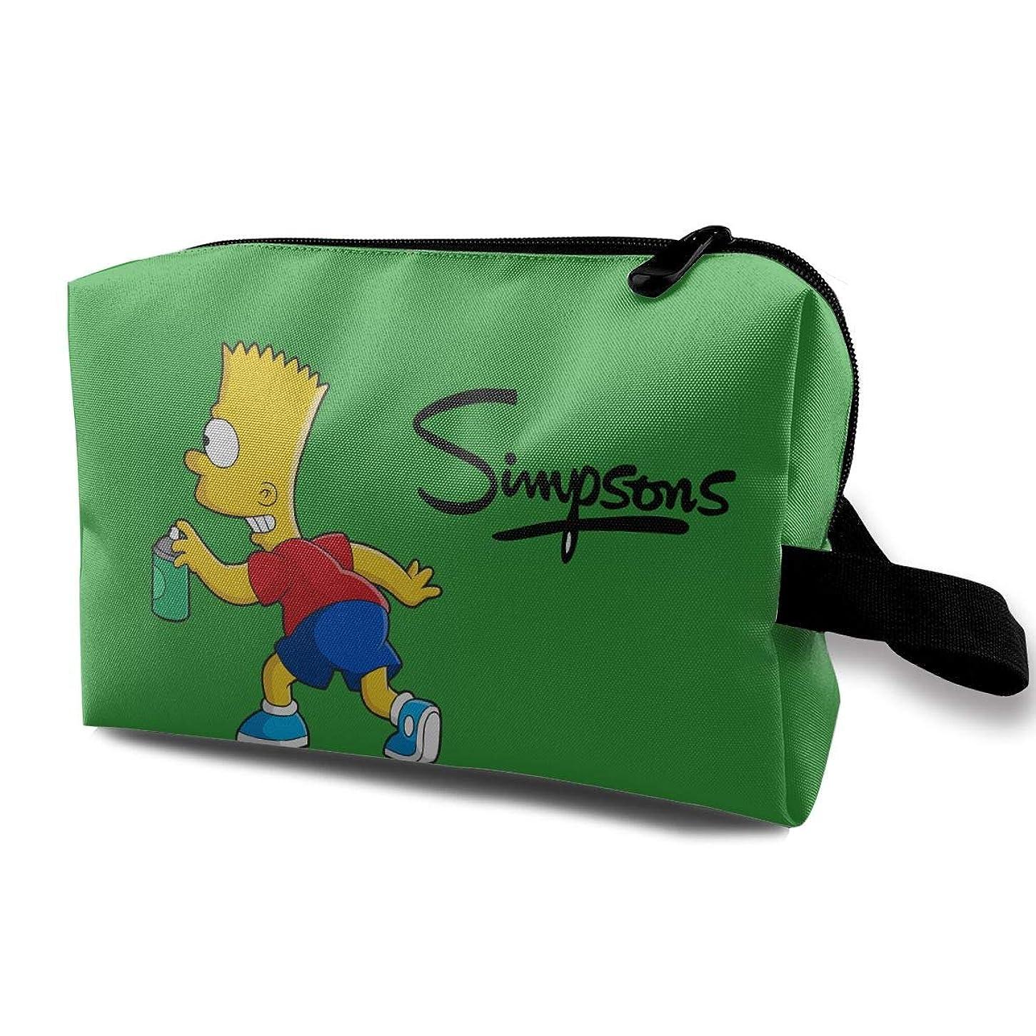 素晴らしいです講師常にDSM_LXHZB 化粧ポーチ レディース 多機能コスメポーチ メイクポーチ 化粧バッグ シンプソンズ Simpsons 化粧品 コスメ収納 小物入れ 便利 コスメポーチ 旅行用 収納ケース バスルームポーチ 化粧ポーチ